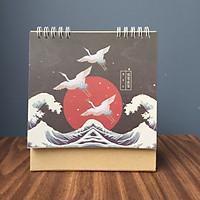 Lịch Để Bàn 2020 Chữ A Dễ Thương Cánh Cò Phiêu Du Stork
