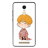 Ốp lưng viền TPU cho điện thoại Xiaomi Redmi Note 3 - Boy 03