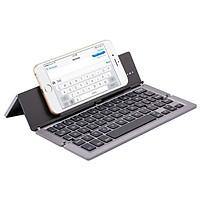 Bàn phím Bluetooth đa năng F18 cho iPad, máy tính bảng, điện thoại