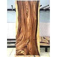 Mặt bàn gỗ me tây nguyên tấm KT 5x87x200cm tự nhiên