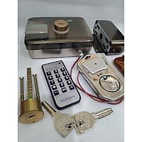 Khóa điện 12V - 3 kiểu mở dành cho cửa sắt