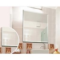 Gương phòng tắm chữ nhật trơn 45 x 60 Luta GS02 ngăn hơi nước, chống nấm mốc