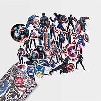 Đội trưởng Mỹ - Set 30 sticker hình dán