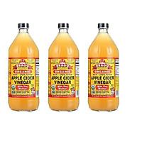 Giấm táo hữu cơ Organic Bragg 946ml (3 chai)