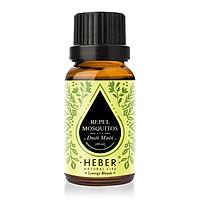 Tinh Dầu Đuổi Muỗi Repel Mosquitos Blends Essential Oil Heber | 100% Thiên Nhiên Nguyên Chất Cao Cấp