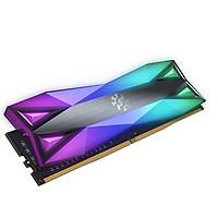 Bộ nhớ Ram PC ADATA DDR4 XPG SPECTRIX D60-LED 32GB (16G*2) 3600 TUNGSTEN GREY RGB - Hàng Chính Hãng