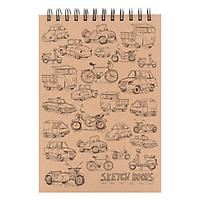 Sổ Lò Xo Khai Trí Sketchbook Inspiration - Không Dòng Kẻ (80 Trang)