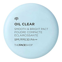 Phấn Nén Kiềm Dầu The Face Shop Oil Clear Smooth & Bright 9g