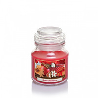 Hũ nến thơm Bartek Candles BAT0912 Gingerbread 130g (Hương gừng thơm)