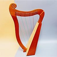 Đàn Hạc (Đàn Lyre - Mini Harp) 19 Dây Chính Hãng ARES - Tặng Kèm Đàn Kalimba ARES