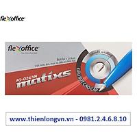 Hộp 20 cây bút bi 0.7mm Flexoffice - FO024 mực đỏ