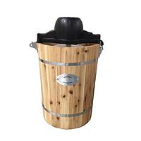 Máy làm kem thùng gỗ 6qt – 5.8L