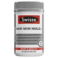 Swisse Ultiboost Hair Skin Nails+ 180 Tablets Exclusive Size