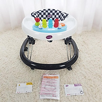 Xe tròn tập đi có đồ chơi và nhạc cho bé MASTELA W2002 màu đen