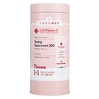 Kem Chống Nắng Nâng Tông Da Cell Fusion C Toning Sunscreen 100 SPF50+/ PA +++ 35ml+35ml