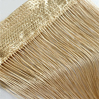 Partition Tulle Curtain Solid Color Window Screening Window Door Drapes Decoration