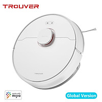 Global Version TROUVER Robot LDS Vacuum-Mop Finder Home Sweeping Mopping Cleaner LDS Laser Navigation/2000Pa