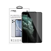 Dán cường lực iPhone 11 Pro Max/iPhone 11 Pro/iPhone 11 Zeelot PureGlass Full chống nhìn trộm - Hàng Nhập Khẩu