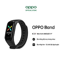 Vòng Đeo Tay Thông Minh OPPO Band | Đo Nồng Độ Oxy Trong Máu SPO2 | Chóng Nước 5ATM | Hàng Chính Hãng