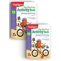 Sách Big Fun activity book K - sẵn sàng cho bé tới trường ( Bộ 2 cuốn, 4 -6 tuổi )