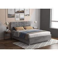 Giường ngủ thông minh bọc nhung  ngăn chứa đồ lớn Juno Sofa