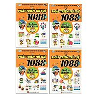 Combo 1088 Câu Đố Phát Triển Trí Tuệ 5-6 Tuổi (Bộ 4Q)