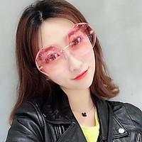Kính Mát Nữ Phong Cách Hàn Quốc Siêu Sang Chảnh, Gọng Kính Cao Cấp, Kiểu Dáng Mắt Kính Thời Trang, Form Kính Ôm, Chống Tia Cực Tím Siêu Tốt, Có 3 Màu Thời Trang - Thiết Kế Cực Kì Sành Điệu