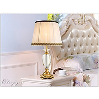 Đèn Ngủ Để Bàn Thân PHA LÊ cao cấp DB2018, ánh sáng Led Trắng/Vàng Trang trí Phòng ngủ, Phòng khách, Đầu giường