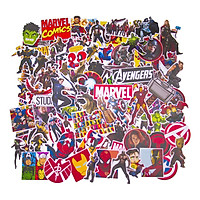 Set 100 Sticker - Marvel