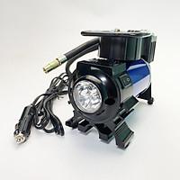 Máy bơm lốp ô tô-xe máy DC12V-120W, Máy bơm hơi mini - bơm điện mini - Máy bơm xe mini chuyên dụng