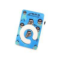 Máy nghe nhạc mp3 chữ C hoạ tiết hình gangnam style tặng tai nghe và dây sạc