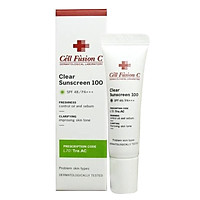 Kem Chống Nắng Cell Fusion C Clear Sunsceen 100 SPF 48/PA+++ 10ml