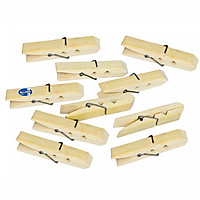 Kẹp Ảnh Gỗ Tre ( 10 cái ) Milliken NL-3113