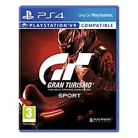 Đĩa Game PlayStation PS4 Sony Gran Turismo Sport Hệ Asia - Hàng nhập khẩu