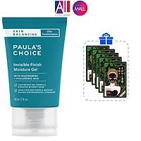 Kem dưỡng đêm da dầu Paula's Choice skin balancing invisible finish moisture gel 60ml TẶNG mặt nạ Sexylook (Nhập khẩu)