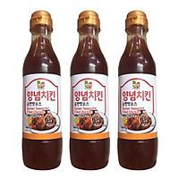Combo 3 chai Nước sốt gà chiên vị ngọt x 440g/chai