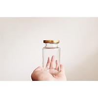 Bộ 10 Hũ Yến Thủy Tinh Nắp Thiếc 150ML Đựng Yến Các Loại Bột Sữa Ong Chúa Cẩm Đạt