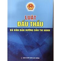 Sách - Luật đấu thầu và văn bản hướng dẫn thi hành