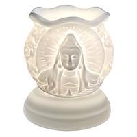 Đèn Xông Tinh Dầu Gốm Hình Phật Bà AH32 (Size L) + Tặng Kèm 1 Bóng Đèn