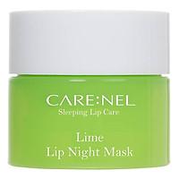 Mặt nạ ngủ môi dưỡng ẩm và tẩy tế bào chết hương chanh Care:nel Lip Sleeping Mask Lime 5ml