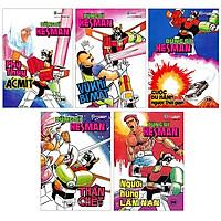 Boxset Dũng Sĩ Hesman – Bộ 5 Tập – Từ Tập 26 Đến Tập 30