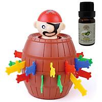 Đồ chơi đâm hải tặc running man cho bé, chất liệu nhựa cao cấp - Tặng 1 chai tinh dầu sả chanh 10ml