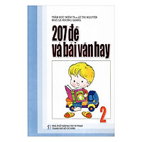 207 Đề Và Bài Văn Hay Lớp 2