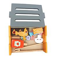 Đồ chơi gỗ WinWintoys - bếp nướng 66032 SM (tặng còi gỗ)