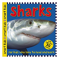 Smart Kids Sticker Sharks - Smart Kids Sticker Books