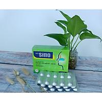 (03 HỘP) Thực phẩm chức năng Viêm mũi dị ứng SINO giúp hỗ trợ giảm biểu hiện ngạt mũi,chảy nước mũi,viêm mũi gúp bổ phế khí