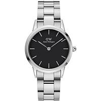 Đồng hồ nữ Daniel Wellington Iconic Link Silver Black 32mm DW00100206