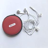 Tai nghe nhét tai BYZ 825 chỗ trợ cổng 3.5mm cho Smartphone (tặng kèm túi đựng tai nghe) -  Hàng Nhập Khẩu