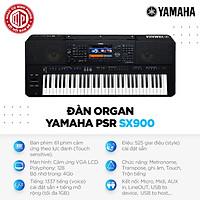 Đàn Organ Yamaha PSR SX900 - Màu đen - Hàng chính hãng