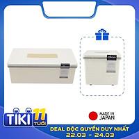 Combo Hộp đựng khăn giấy chữ nhật & hộp đựng khăn giấy vuông sang trọng DKW Made in Thailand